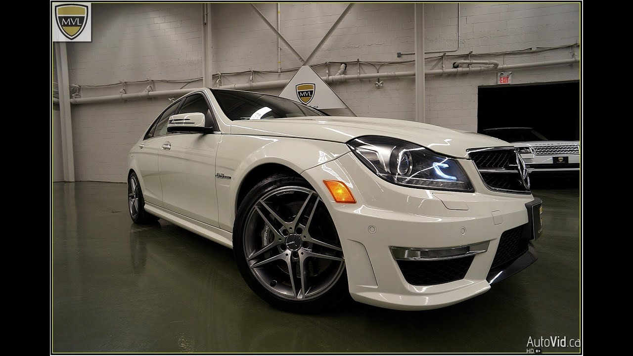 2012 mercedes benz c63 amg sedan youtube - 2012 mercedes c63 amg coupe ...