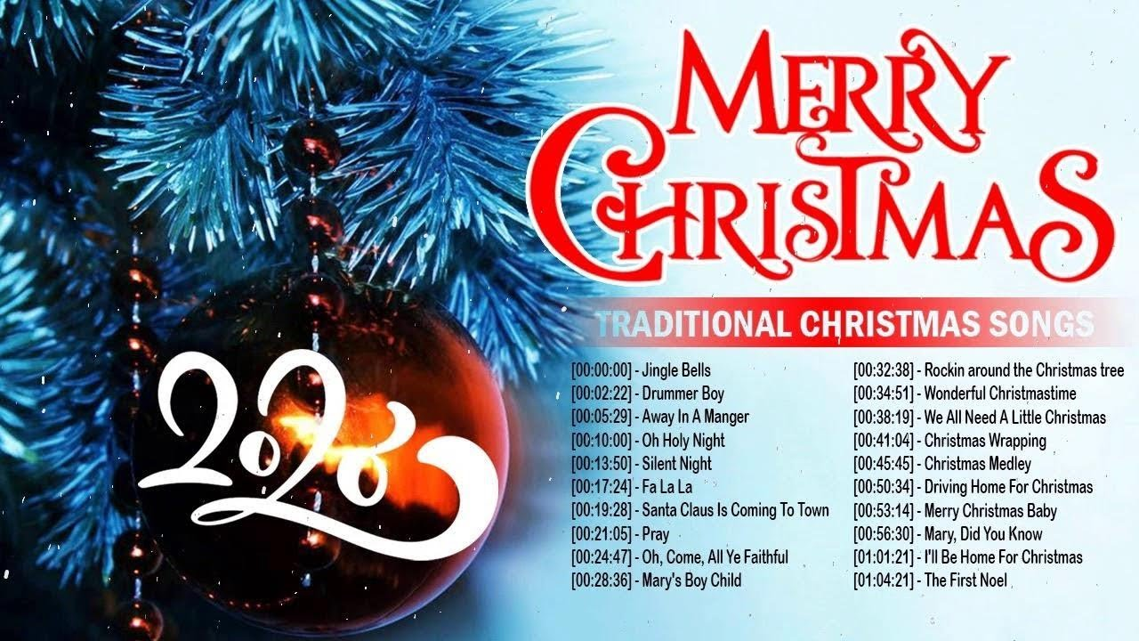 Top Traditional Classic Christmas Songs 2020 Medley - Most ...