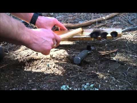 Bow Drill - Pine on Pine