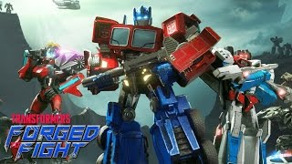 Game Mobile Nhập Vai Hành Động Robot Biến Hình - TRANSFORMERS: Forged to Fight (EN)