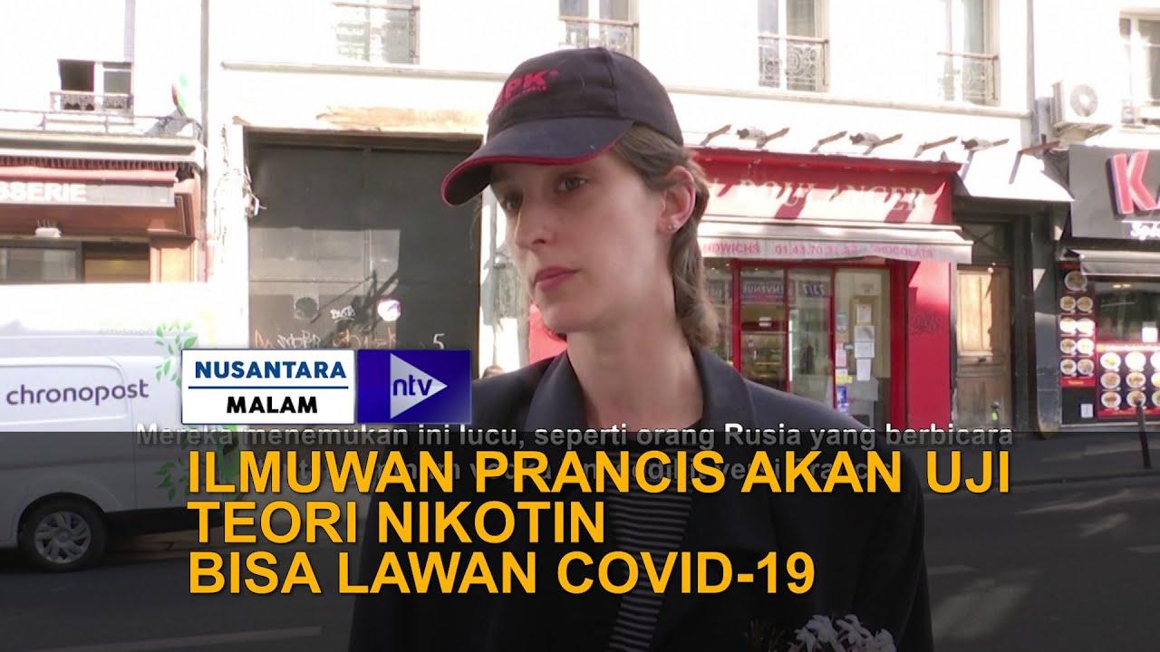 Ilmuwan Perancis Akan Uji Teori Nikotin Bisa Lawan Covid-19
