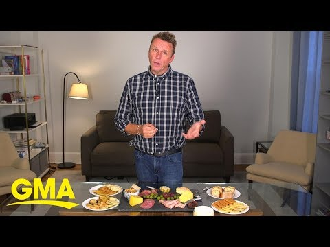 How to make an awesome cheese board  | GMA Digital