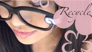 MeiIris' Reuse 3D Glasses Tutorial