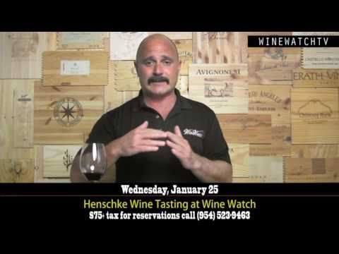 Henschke Wine Tasting at Wine Watch - click image for video