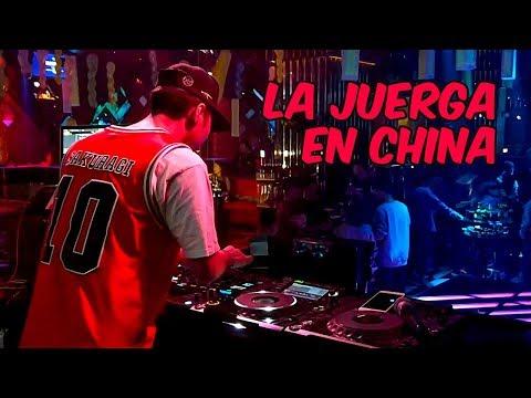 Noche de bares y discoteca en China