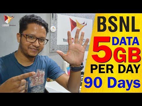 BSNL Counter Jio | 5GB Per Day Data Plan | 450GB Data For 90 Days | Data Dock
