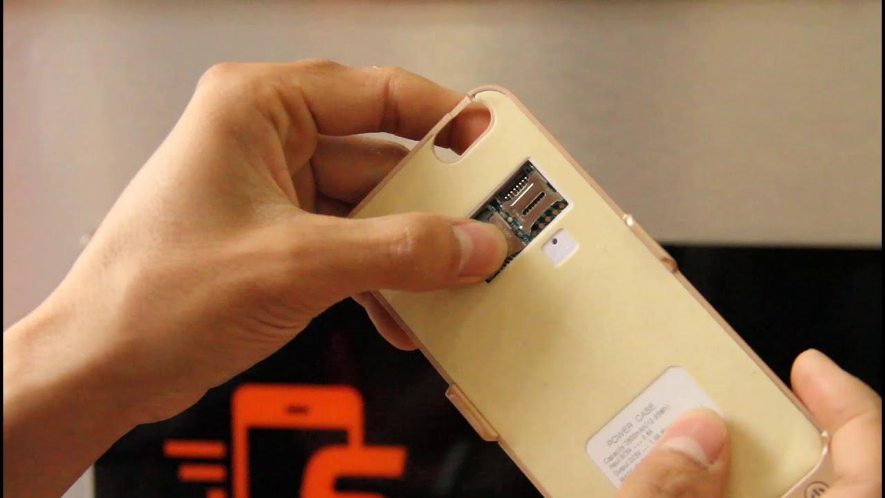 Review sản phẩm ốp lưng kiêm sạc dự phòng kiêm điện thoại cảm ứng Andsun