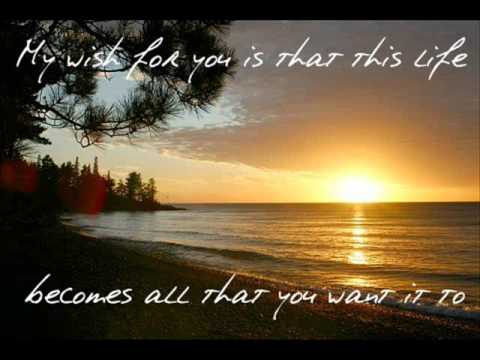 Rascal Flatts - My Wish (Lyrics On Screen)