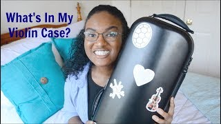 What's In My Violin Case?