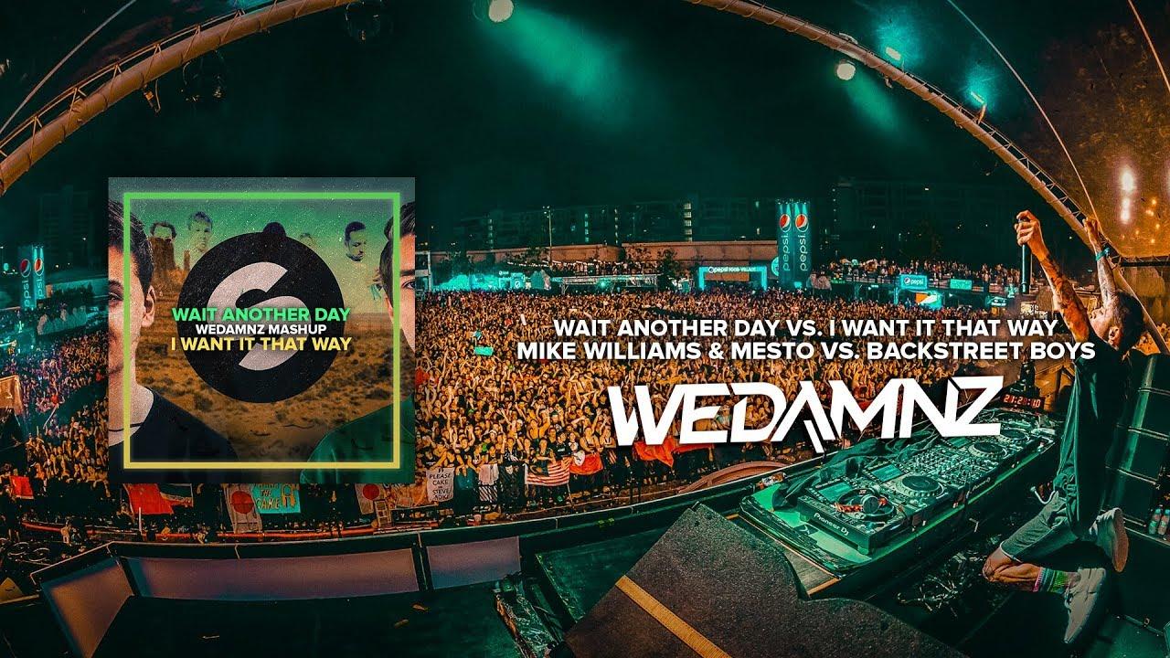 Mike Williams & Mesto vs  Backstreet Boys - Wait Another Day vs  I Want It  That Way (WeDamnz Mashup)