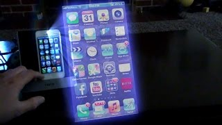Transforma tu iPhone, iPod Touch o iPad en un Proyector
