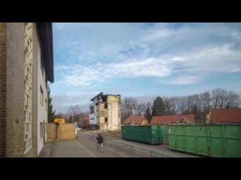 Möbel Krebs Bad Harzburg Abrissarbeiten 2015 Youtube