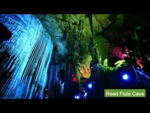 Guilin - Natural Beauty, Yangshuo, West Street and Beer Fish (HD)