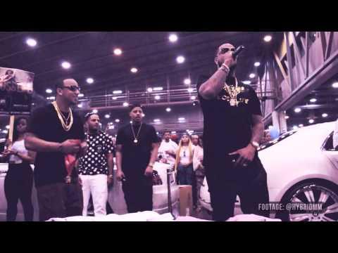 Slim Thug Freestyles at 97.9 The Box 2013 Car Show
