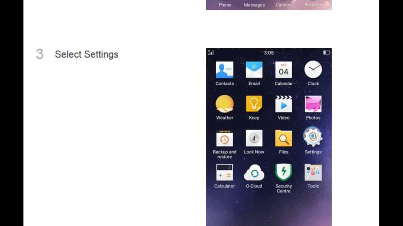 ☑️ OPPO A33 Online Update software