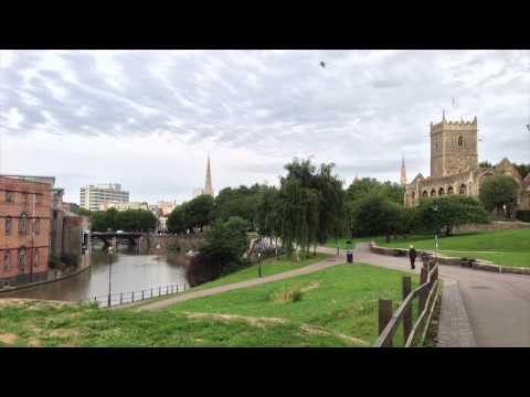 A Walk Through Castle Park, Bristol
