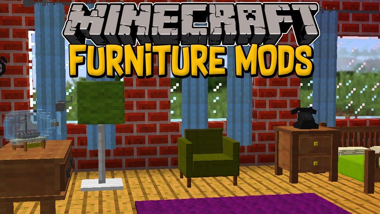 Minecraft MOD FURNITURE - OS 8 MELHORES MODS DE DECORAÇÃO DO MINECRAFT