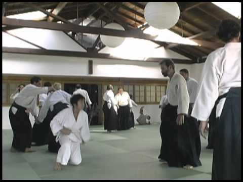 Kanai Sensei Seminar at Aikido Santa Barbara, May 2002