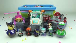 Коробка сюрпризів з іграшками щенячий патруль