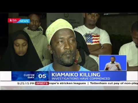 Kiamaiko Killing: 13 year old boy shot by police; Officer was enforcing curfew