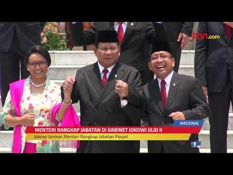 Alasan Jokowi Izinkan Menteri Rangkap Jabatan Pimpinan Parpol