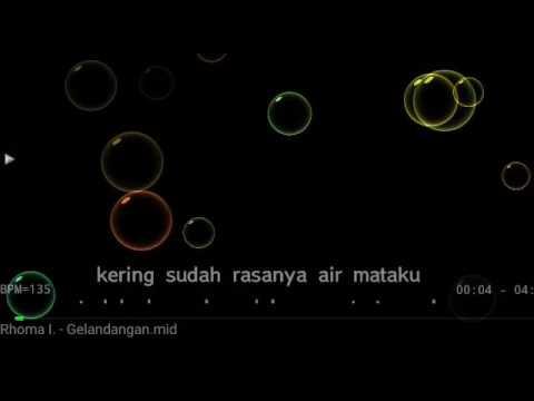 Karaoke Gelandangan Rhoma Irama No Vocal HQ Audio