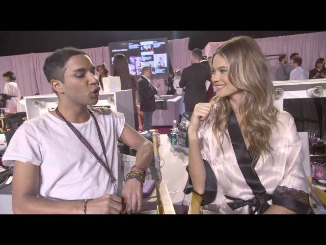 Victoria's Secret: Olivier Rousteing meets Behati Prinsloo
