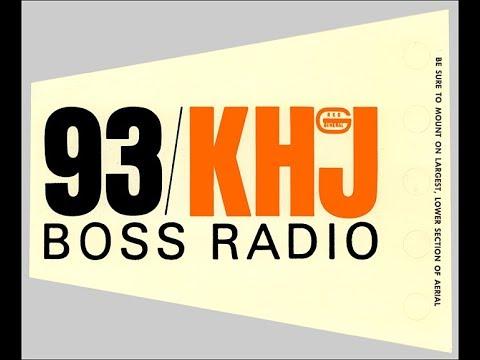KHJ 93 Los Angeles - Begining of Boss Radio - 1965 1/3