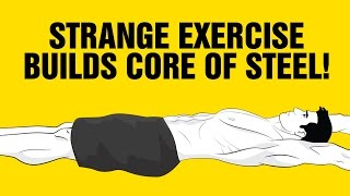 Build a Core Of Steel And Sexy Abs With This Strange Exercise : Hollow Hold Roll