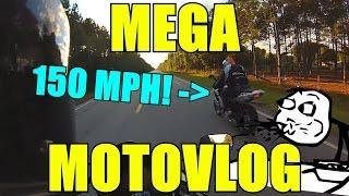 Dan & Laura's MEGA MOTOVLOG! - 150mph FlyBy!