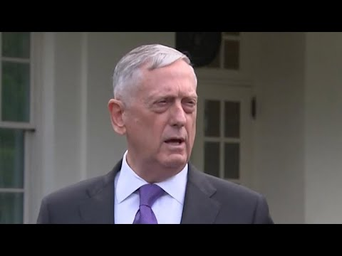"Defense Secretary Mattis says N. Korea threat would bring ""massive"" military response"