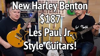 [14.68 MB] NEW HARLEY BENTON PROTOTYPE GUITARS #TGU19