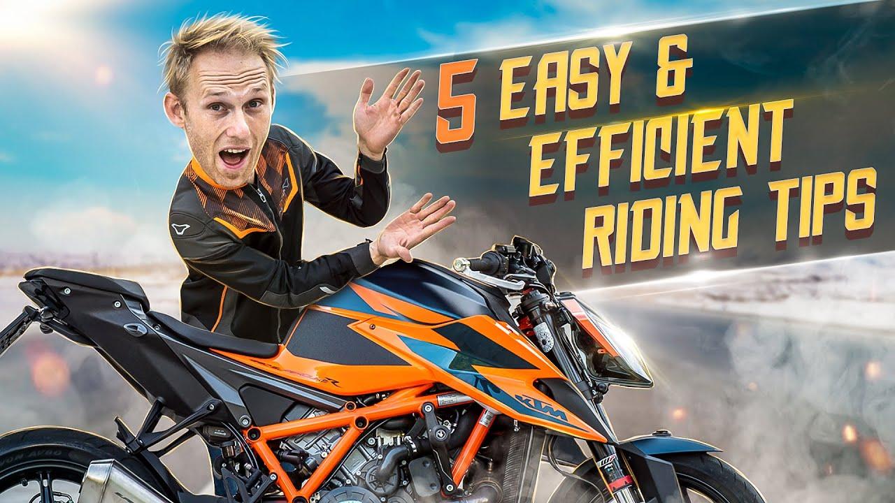 5 EASY MOTORCYCLE RIDING TIPS  I RokON vlog #113