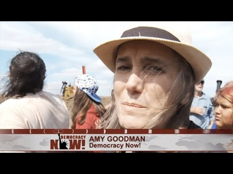 Journalist Amy Goodman To Turn Herself In to Defend The Freedom of the Press