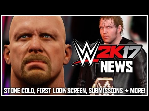 WWE 2K17 News - Legend Revealed, First Look Screen, Submissions Online, Suplex City & More!
