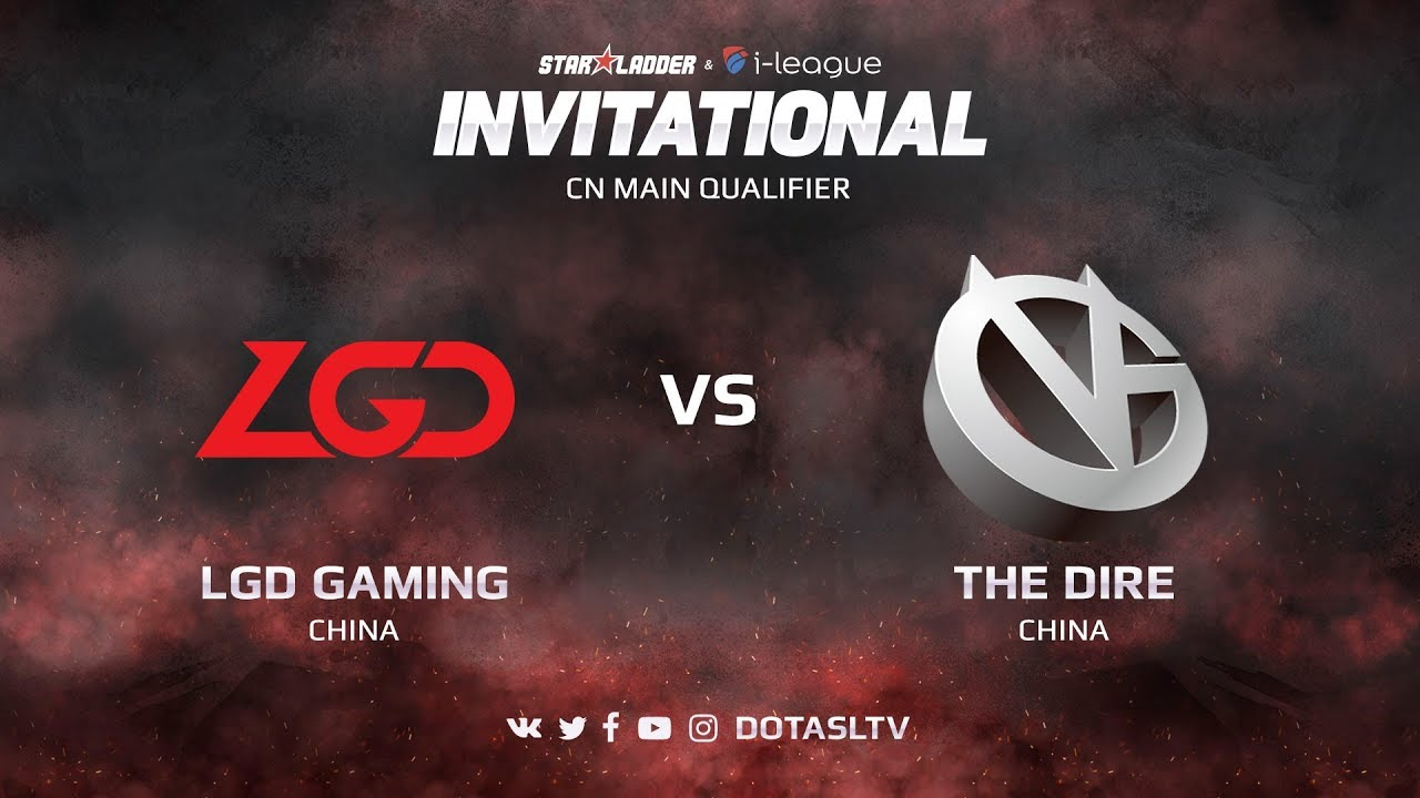LGD Gaming против Vici Gaming, Вторая карта, CN квалификация SL i-League Invitational S3