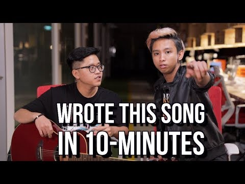 I WROTE THIS SONG IN 10 MINUTES