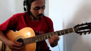 Alaipayuthe Kanna - Indian Classical on Uneffected Acoustic Guitar (single take)