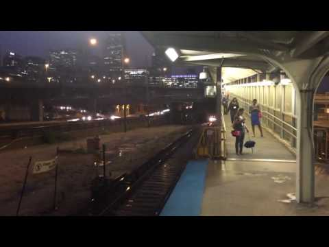 CTA Budd Company Blue Line Entering UIC-Halsted