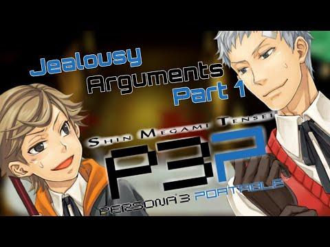 Persona 3 Portable - Jealousy Arguments In Tartarus [Fe MC - PART 1]