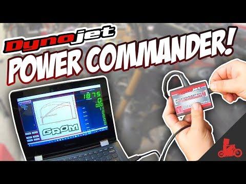 Honda Grom Dynojet Power Commander Install! (PCV)
