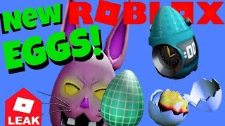 Roblox Egg Hunt Eggs, Leaks for 2019 Scrambled in Time