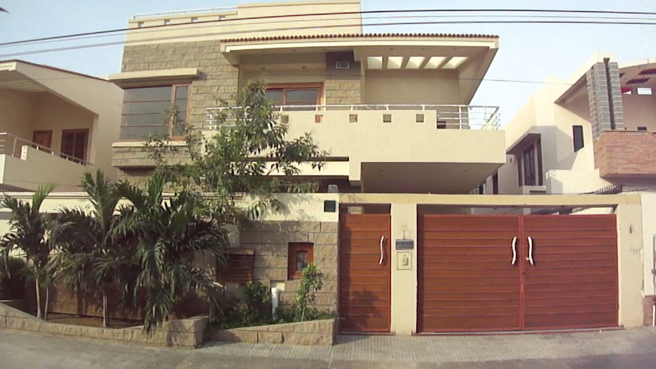 Front Elevation Of House In Karachi : Yards bungalow rent in dha karachi youtube