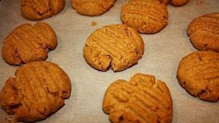 High-protein Bodybuilding Peanut Butter Cookies (low-carb)