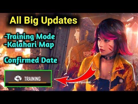 Training Mode Confirmed Open - Big Updates - Garena Free Fire