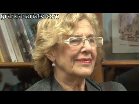 Conversando con Manuela Carmena: Mujer y Nueva Política (alcaldesa de Madrid en Gran Canaria)