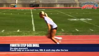 Long Jump for Girls' Track & Field