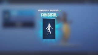 Spending Fortnite V-Bucks Buying NEW Dancing Emote 'FANCIFUL' (Fortnite Battle Royale)