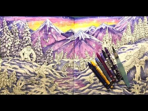 Mythomorphia Coloring Snow Scene Youtube
