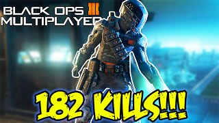 182 KILLS ONE GAME! Black Ops 3 Multiplayer 182-38 INSANE Beta Gameplay! (Call of Duty BO3)
